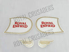 NEW ROYAL ENFIELD CLASSIC 500 FUEL TANK AND TOOL BOX STICKER SET (CODE1129)