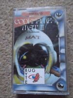 Codename Mat II  Vintage Amstrad CPC 464/664/6128 Computer Game Cassette (T197)