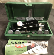 Vintage Singer Buttonholer #160506 Complete in Original Box and Great Condition