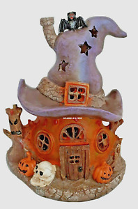 HALLOWEEN DECORATION Witches Light Up Spooky House