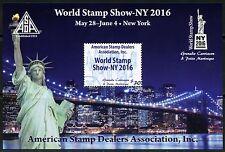 Grenada Grenadines 2016 Asda World Stamp Show Souvenir Sheet Mint Nh