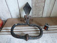 ancien heurtoir fer forgé