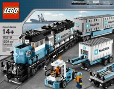 BRAND NEW, SEALED LEGO #10219 RARE, MAERSK TRAIN AND TRUCK, MISB, FAST SHIPPING