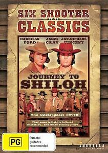 Six Shooter Classics - Journey To Shiloh  DVD  Western - Movie -