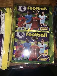 Football 2020 Panini Premier League Stickers 90 Sealed Pack Sealed Packets