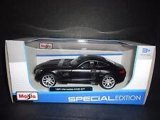 Maisto Mercedes Benz AMG GT Matte Black 1/24