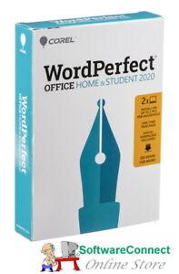 Corel WordPerfect Office 2020 Home & Student GENUINE GUARANTEE