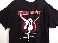 Michael Jackson music tee shirt 3Xl black 100% cotton black