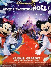 Publicité advertising 2007 Anniversaire Disneyland Paris 15 ans