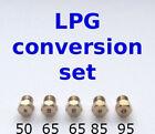 Set of 5 LPG Jets Injectors Cooker Hob Nozzles Conversion To LPG Propane Butane photo