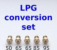 Set of 5 LPG Jets Injectors Cooker Hob Nozzles Conversion To LPG Propane Butane