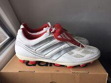 Original adidas predator Precision cl f 47 1/3 UK 12 us 12,5 TRX FG White Mania