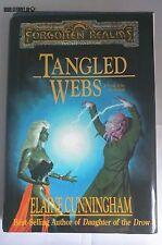 TANGLED WEBS  Elaine Cunningham Forgotten Realms Dungeons & Dragons Book WotC