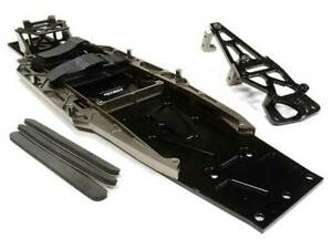 Integy Aluminium Komplett LCG Fahrgestell Umbausatz Für Traxxas 1/10 Slash 2WD