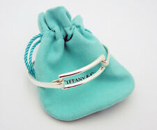 """Estate Tiffany & Co. 2003 6-5/8"""" Bracelet in Sterling Silver with Pouch"""