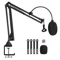 Microphone Arm Stand TONOR T20 Adjustable Suspension Studio Boom Scissor Mic NEW