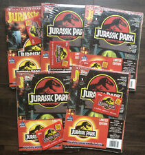 Jurassic Park Collector's Pack Limited Edition #1 Comic Book Lot (5) With/ Cards