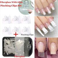 - tool nagel verlängerung fibra glasfaser mit nagel durch clips lange
