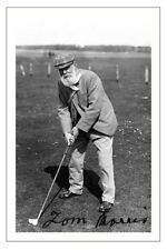 Old Tom Morris GOLF signé autographe imprimé photo