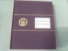 MICHEL RAGON L UNIVERS DES ARTS ED FELIX TOURON 1965 BON ETAT