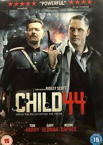CHILD 44 DVD Crime History, Gary Oldman, Noomi Rapace - Ridley Scott Movie