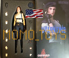 1/6 Jill Valentine Resident Evil Figure Full Set Very Hot Toys ❶USA IN STOCK❶