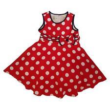 Girls Wedding Christening Polka Dot Princess Dress Sizes 18 months to 5 years