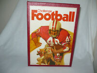CHALLENGE FOOTBALL BOARD GAME by 3M GAMES **NEVER PLAYED**