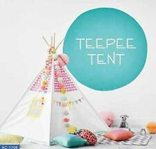 Kid's Teepee Play Tent for Kids with Carry Case for Childrens Playhouse Playroom