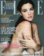 Elle French Fashion Magazine 28 Janvier 2002 Monica Bellucci 091719AME2