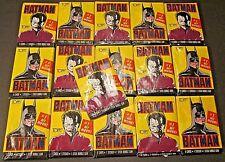 1989 TOPPS BATMAN 1# HIT MOVIE 1st Series 16 SEALED Wax Packs 8 Batman & 8 Joker