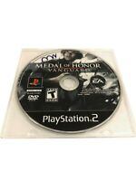 Medal of Honor: Vanguard (Sony PlayStation 2, 2007) PS2 Video Game Disc Only