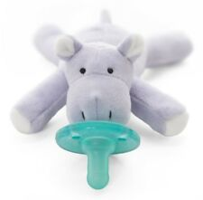 WubbaNub Infant Newborn Baby Soothie Pacifier ~ Baby Hippo