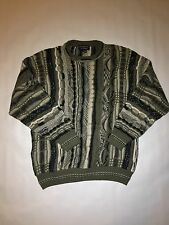 Vintage Coogi Style Sweater Roundtree And Yorke Biggie Smalls Cosby 90s Tundra