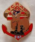Insigne CBI RMT REGIMENT DE MARCHE DU TCHAD ORIGINAL TDM COLO ARTHUS BERTRAND