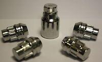 MG ZR ZS TF SVR MGF ALLOY WHEEL LOCKING NUTS M12 X 1.5