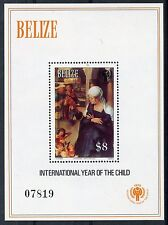 STAMP / TIMBRE AMERIQUE DU SUD BELIZE BLOC INTERNATIONAL YEAR OF THE CHILD