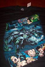 BATMAN BLACKEST NIGHT Dc Comics T-Shirt MEDIUM NEW