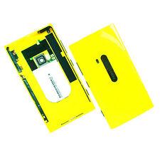 100% Originale Nokia Lumia 920 Alloggiamento Posteriore + Fotocamera + vetro lato PULSANTI RETRO GIALLO