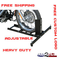 Motorcycle Stand Wheel Chock Trailer Stop Triumph Indian Road Glide Trike King