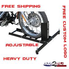 Motorcycle Stand Wheel Chock Trailer Stop Harley Davidson Street Electra Glide