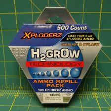 Xploderz 500 Count Ammo Refill Pack H2Grow Technology Make Your Own Ammo  45101