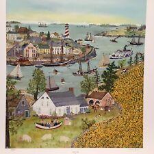 "Will Moses "" Sunflower Bay "" 242/1000 COA"