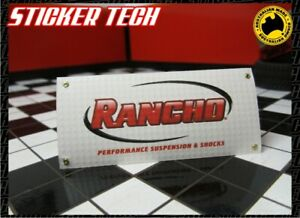 1/10 1/12 1/8 SCALE RANCHO SUSPENSION RC GARAGE WORK SHOP BANNER SUITS RC4WD