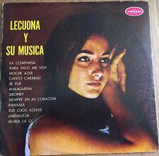 LECUONA LECUONA Y SU MUSICA ORQUESTA HABANA CASINO MEXICAN LP GROOVY JAZZ