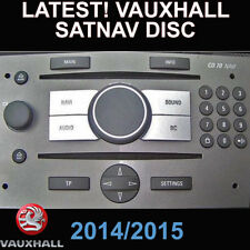 CD 70 DVD 90 SATNAV DISC, VAUXHALL ASTRA, CORSA, VECTRA, ZAFIRA GB UK NAVIGATION