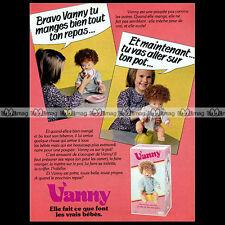 VANNY Raynal Poupée Baby Doll Bambola 1979 : Pub Publicité Advert Ad #A1387