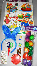 Lot of Child Toys Mater Car Bunny Ears Special Eggs Bath Cup Scissors FREE SHIP