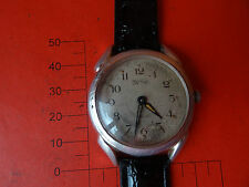 WINTAGE old Russian  watch URAL -MOLNIJA  CHCHZ  RETRO 15 JEWELS very rare  1958