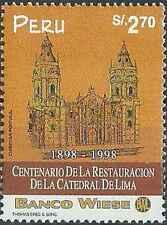 Timbre Eglises Pérou 1125 ** année 1998 lot 21147